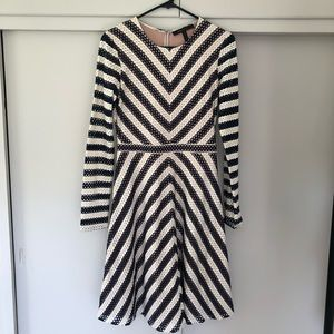 Long sleeve BCBG dress